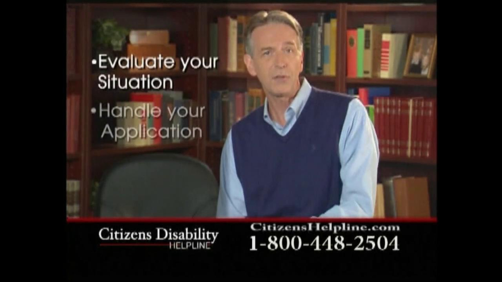Citizens Disability Helpline TV Spot For Disability - Screenshot 8