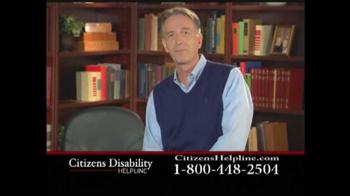 Citizens Disability Helpline TV Spot For Disability - Thumbnail 3