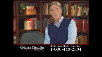 Citizens Disability Helpline TV Spot For Disability - Thumbnail 7