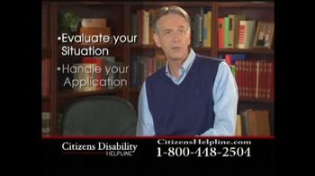 Citizens Disability Helpline TV Spot For Disability - Thumbnail 8