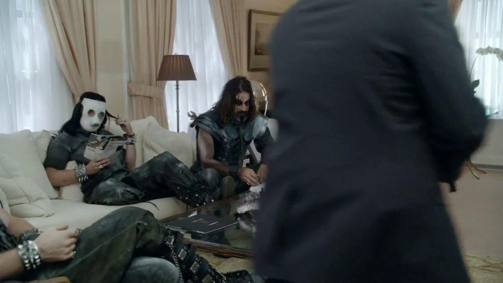 FedEx TV Spot For Heavy Metal Golfing - Screenshot 2
