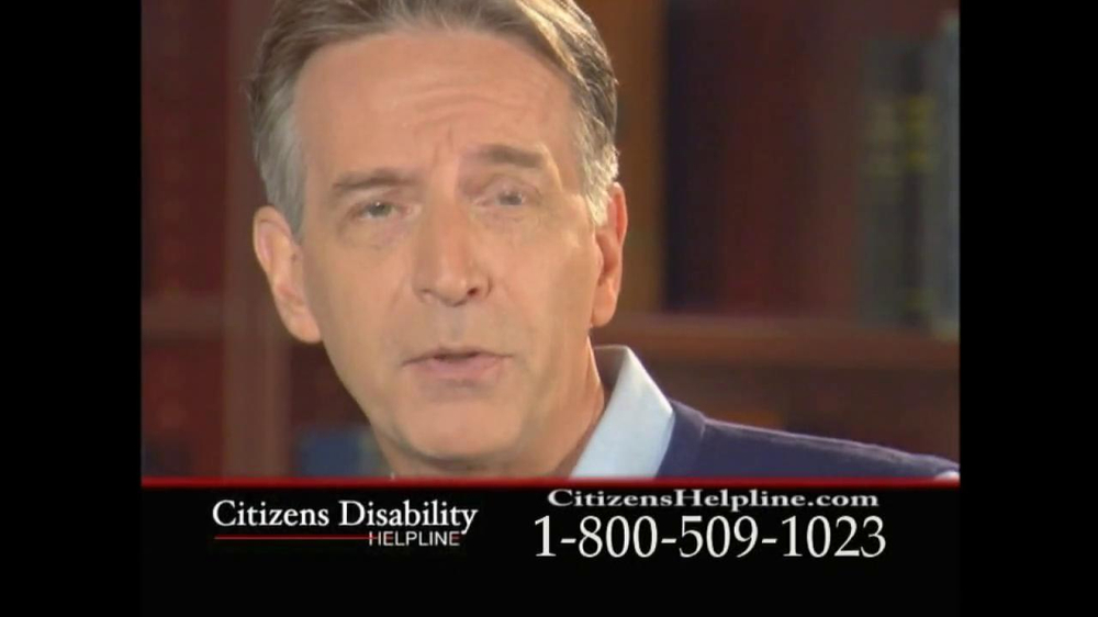Citizens Disability Helpline TV Spot For Receive Benefits - Screenshot 10