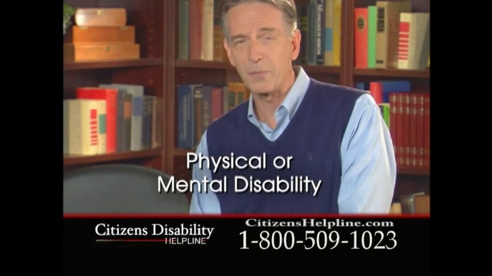 Citizens Disability Helpline TV Spot For Receive Benefits - Screenshot 4