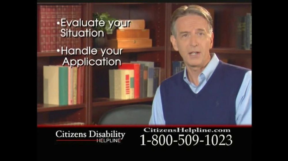Citizens Disability Helpline TV Spot For Receive Benefits - Screenshot 6