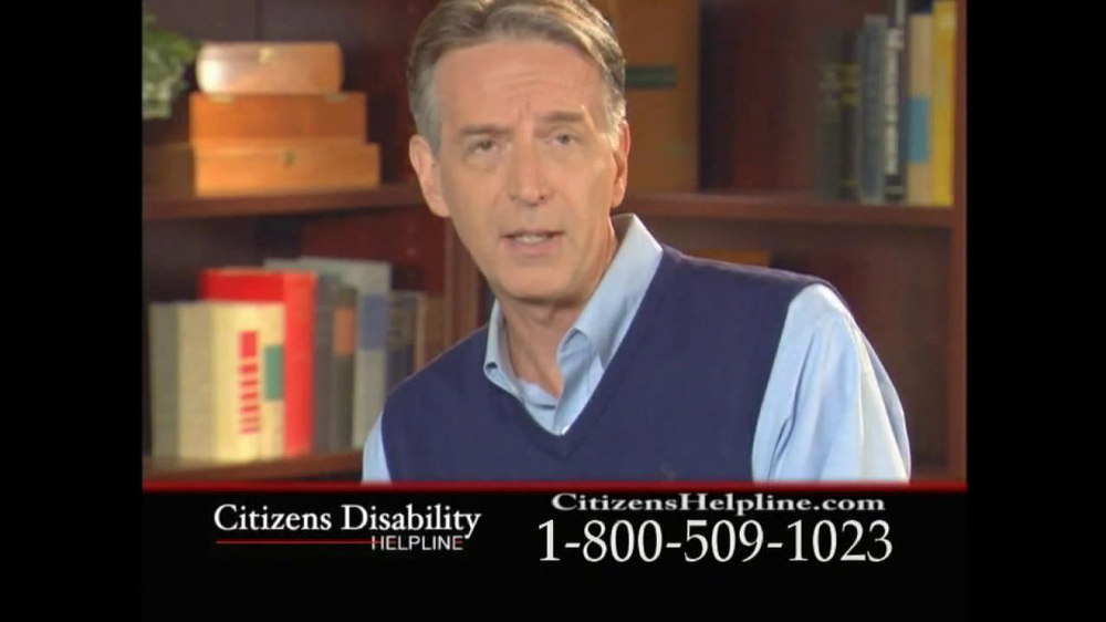 Citizens Disability Helpline TV Spot For Receive Benefits - Screenshot 9
