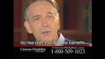 Citizens Disability Helpline TV Spot For Receive Benefits - Thumbnail 7