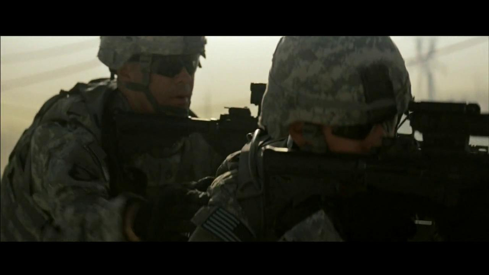 u s  army tv commercial for army strong