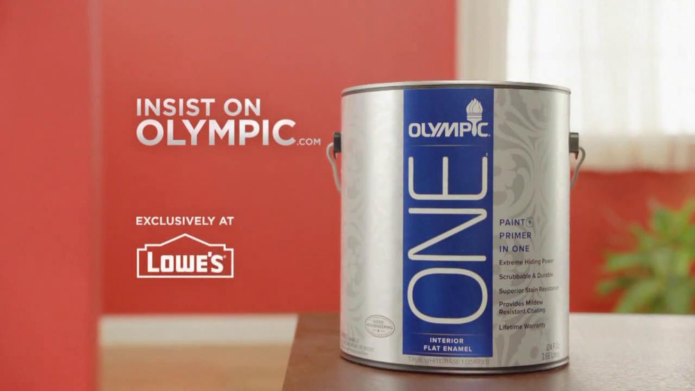 Featured Product Olympic Paints and Stains Paint and Primer In One