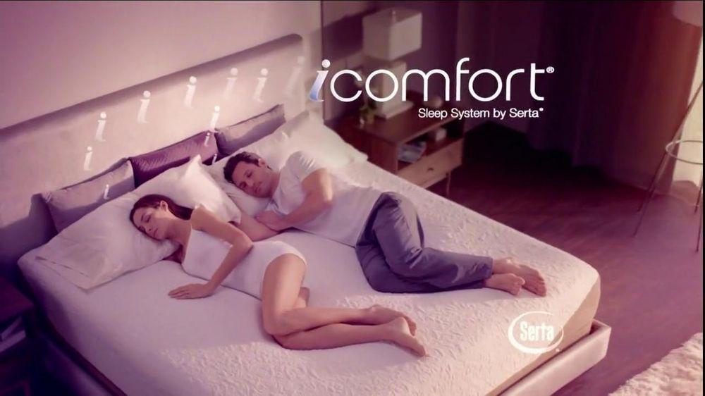 Serta Icomfort Mattress With Free Box Spring Tv Spot