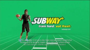 Subway TV Spot Featuring Robert Griffin III, Mike Lee, and Blake Griffin