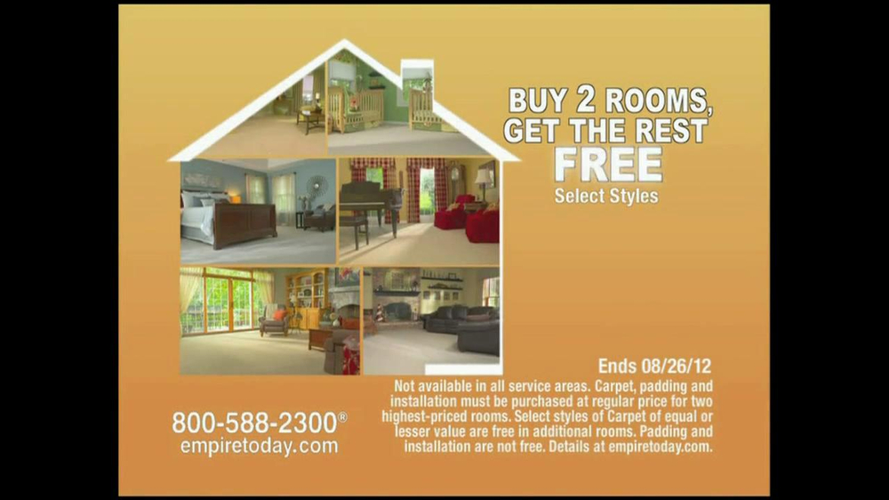 Tnt Auto Sales >> Empire Today TV Commercial For Whole House Sale - iSpot.tv