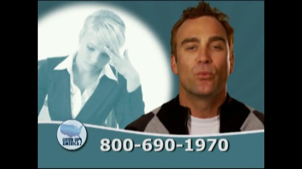 Listen Up America TV Spot, 'Tax Relief Hotline' - Screenshot 3