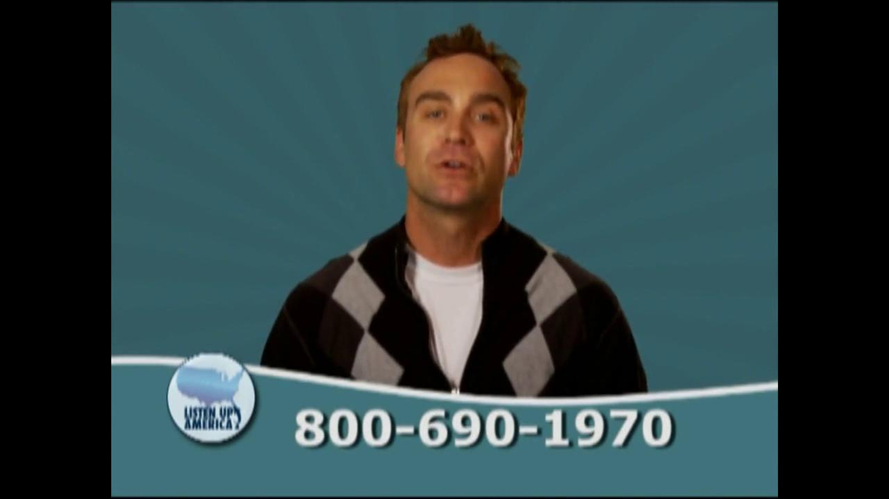 Listen Up America TV Spot, 'Tax Relief Hotline' - Screenshot 4