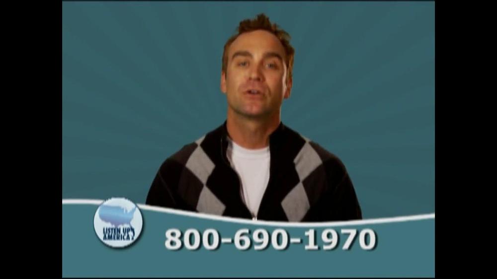 Listen Up America TV Spot, 'Tax Relief Hotline' - Screenshot 4