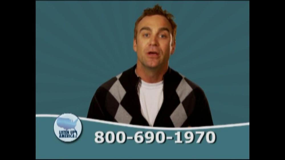 Listen Up America TV Spot, 'Tax Relief Hotline' - Screenshot 6