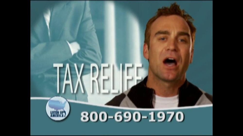Listen Up America TV Spot, 'Tax Relief Hotline' - Screenshot 7