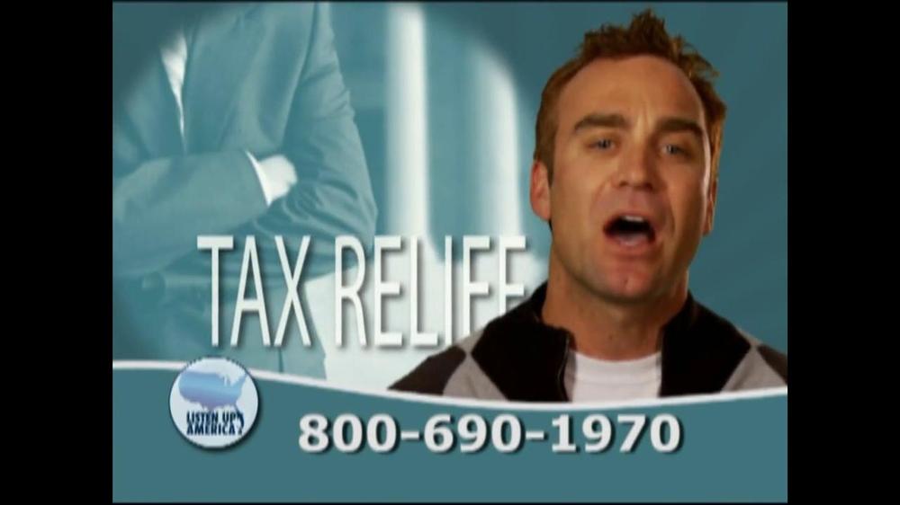 Listen Up America TV Spot, 'Tax Relief Hotline' - Screenshot 7