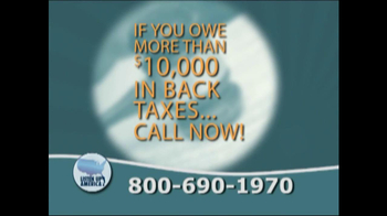 Listen Up America TV Spot, 'Tax Relief Hotline' - Thumbnail 10