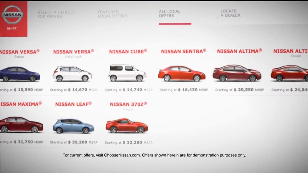 Nissan TV Spot For Choosenissan.com - Screenshot 3