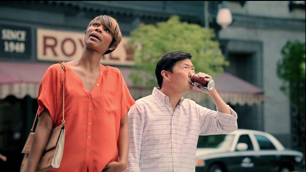 Diet Coke TV Spot, 'And Is Better Than Or' Featuring Ken Jeong - Screenshot 1