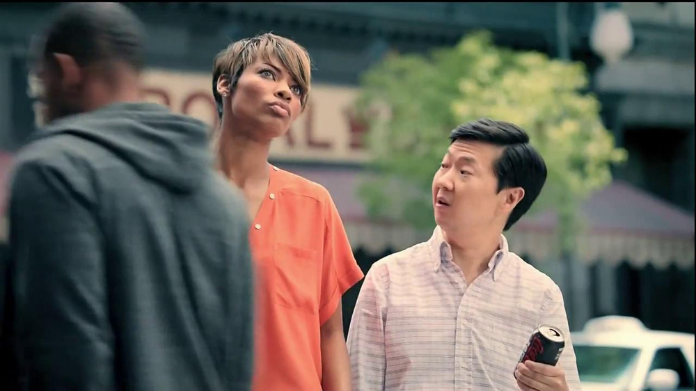 Diet Coke TV Spot, 'And Is Better Than Or' Featuring Ken Jeong - Screenshot 3