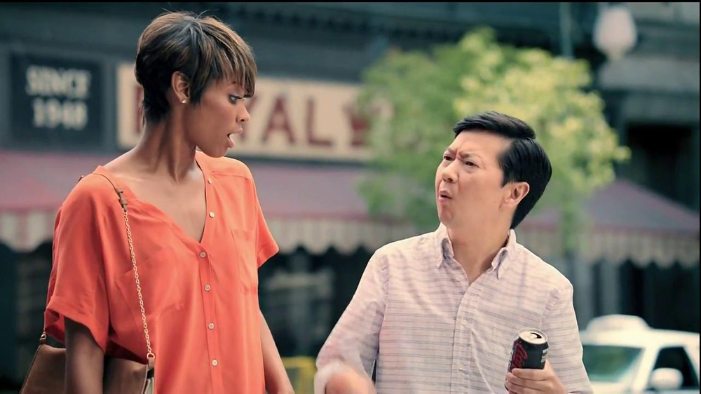 Diet Coke TV Spot, 'And Is Better Than Or' Featuring Ken Jeong - Screenshot 4