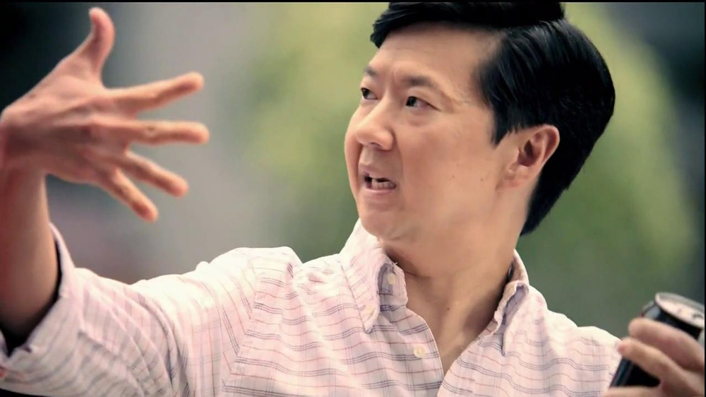 Diet Coke TV Spot, 'And Is Better Than Or' Featuring Ken Jeong - Screenshot 5
