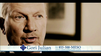 Gori Julian Law TV Spot for Mesothelioma Featuring Barry Julian thumbnail