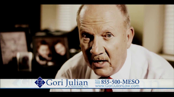 Gori Julian Law TV Spot for Mesothelioma thumbnail