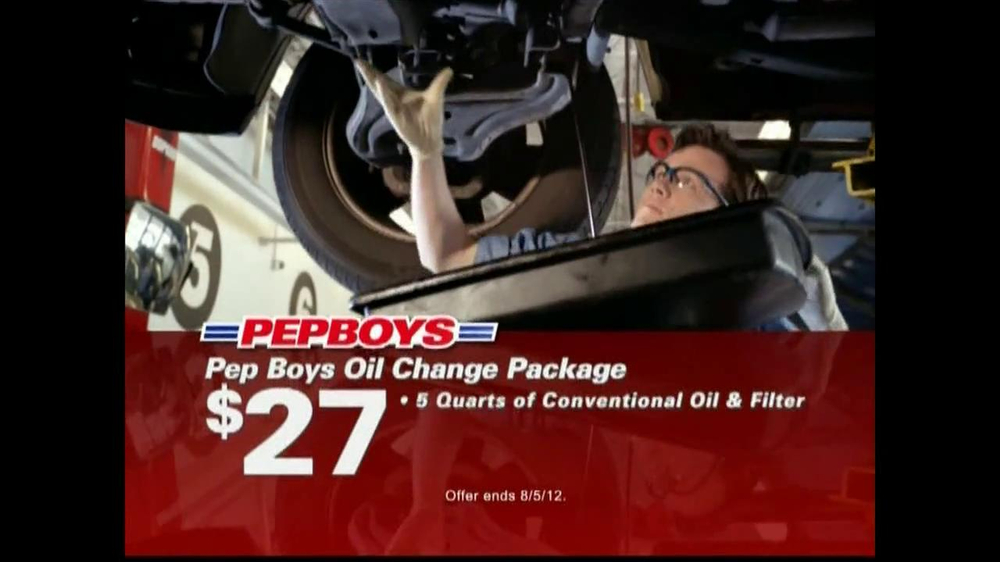 Does pep boys do oil changes / Actual Coupons
