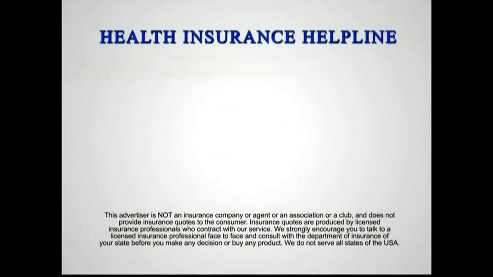 Health Insurance Helpline TV Spot - Screenshot 10