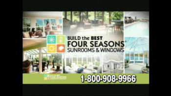 Four Seasons Sunrooms TV Spot For The Way You Live