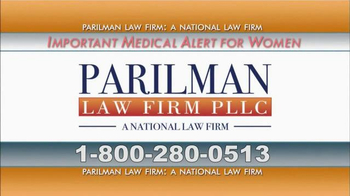 Parilman & Associates TV Spot, 'Transvaginal Mesh'