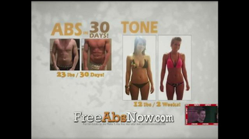 Flabs 2 Abs Get It Free TV Spot, 'Bust your Butt'