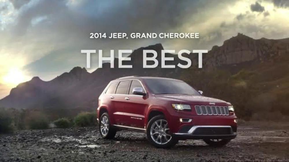 2014 Jeep Grand Cherokee TV Spot, 'Five Simple Words' - Screenshot 8