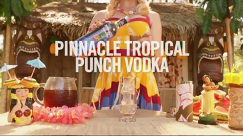Pinnacle Vodka: Tropical Tiki-Tini