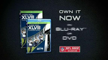 NFL Shop Super Bowl XLVIII Champions Blu-ray and DVD TV Spot