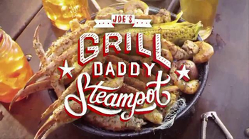 Joe's Crab Shack TV Spot, 'Grill Daddy Steampot'