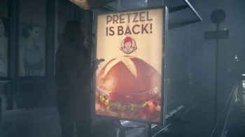 Wendy's Pretzel Bacon Cheeseburger TV Spot, 'All By Myself No More'