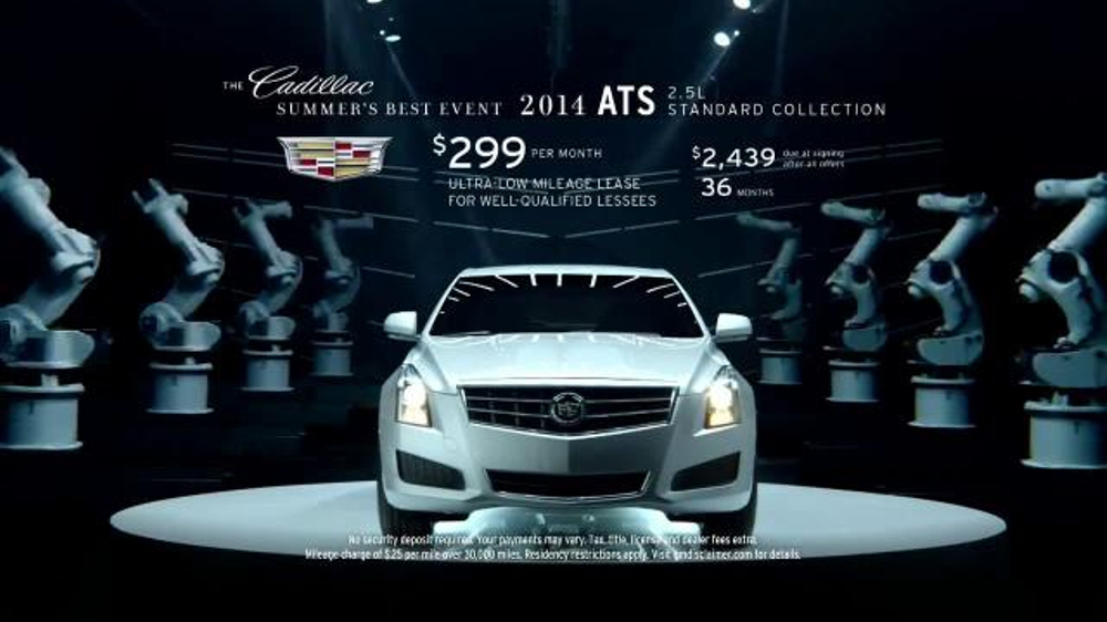 Cadillac Commercial Robot