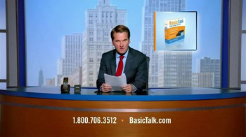 BasicTalk TV Spot, 'News Anchor'