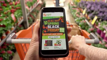 The Home Depot Spring Black Friday TV Spot, 'Celebrate Spring' thumbnail