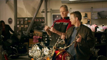 GEICO Motorcyle TV Spot, 'Reins'