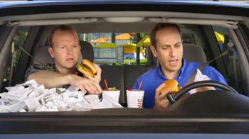 Sonic Drive-In Half-Price Cheeseburgers for Tax Day TV Spot, 'Receipts' thumbnail