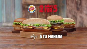 Burger King Extra Long Cheeseburger TV Spot, 'Más Perfecto' [Spanish] thumbnail