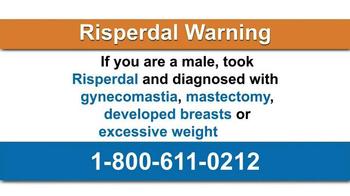AkinMears TV Spot, 'Risperdal Warning'