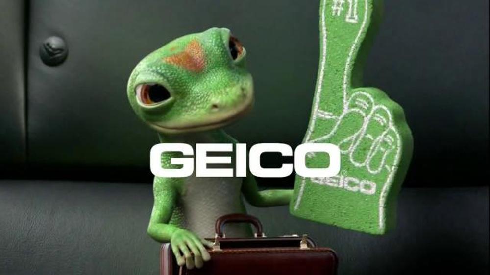 Geico Tv Commercial Foam Finger Gecko Journey Ispot Tv