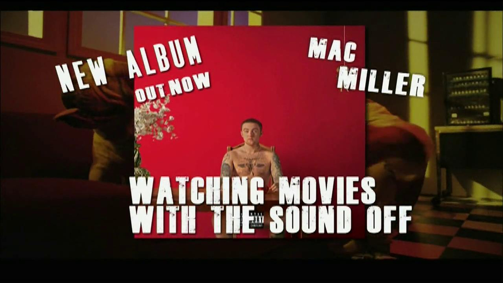 mac miller watching movies with the sound off cover - photo #9