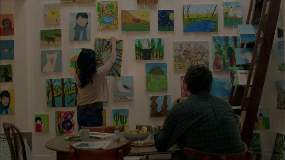 Subaru TV Spot, 'Painting Easel' - Screenshot 10