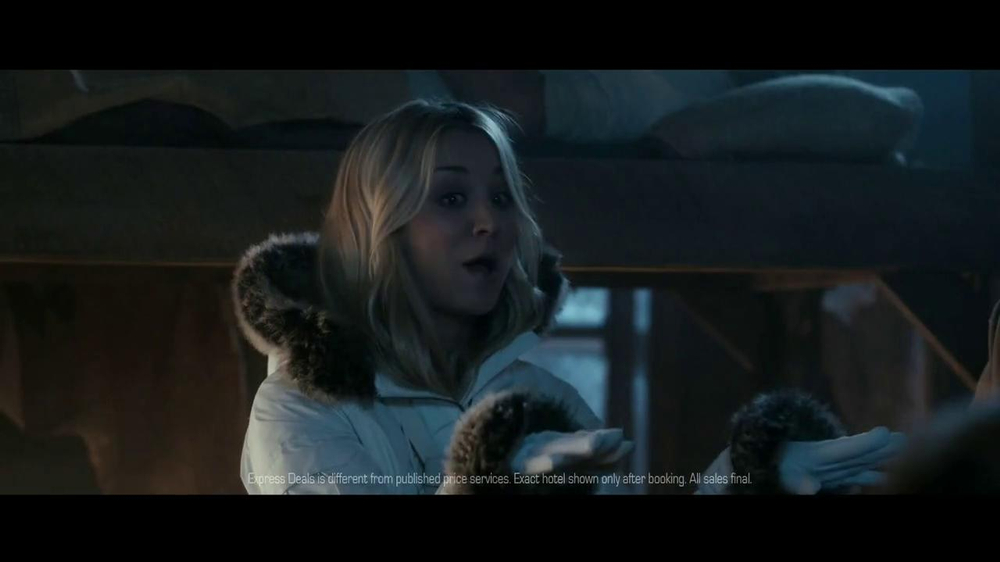 Priceline.com TV Spot, 'Gulag' Featuring William Shatner, Kaley Cuoco - Screenshot 7